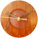 Hand made wooden clock
