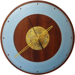 Hand made African Rosewood clock